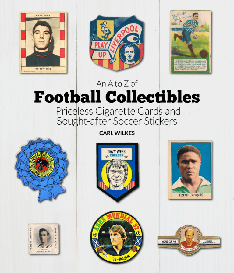 An A to Z of Football Collectibles Front Cover