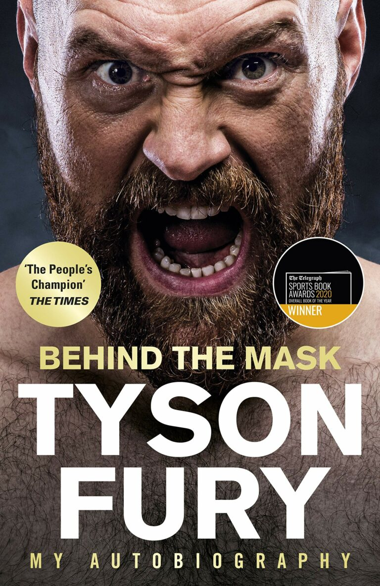 Behind the Mask by Tyson Fury, book cover