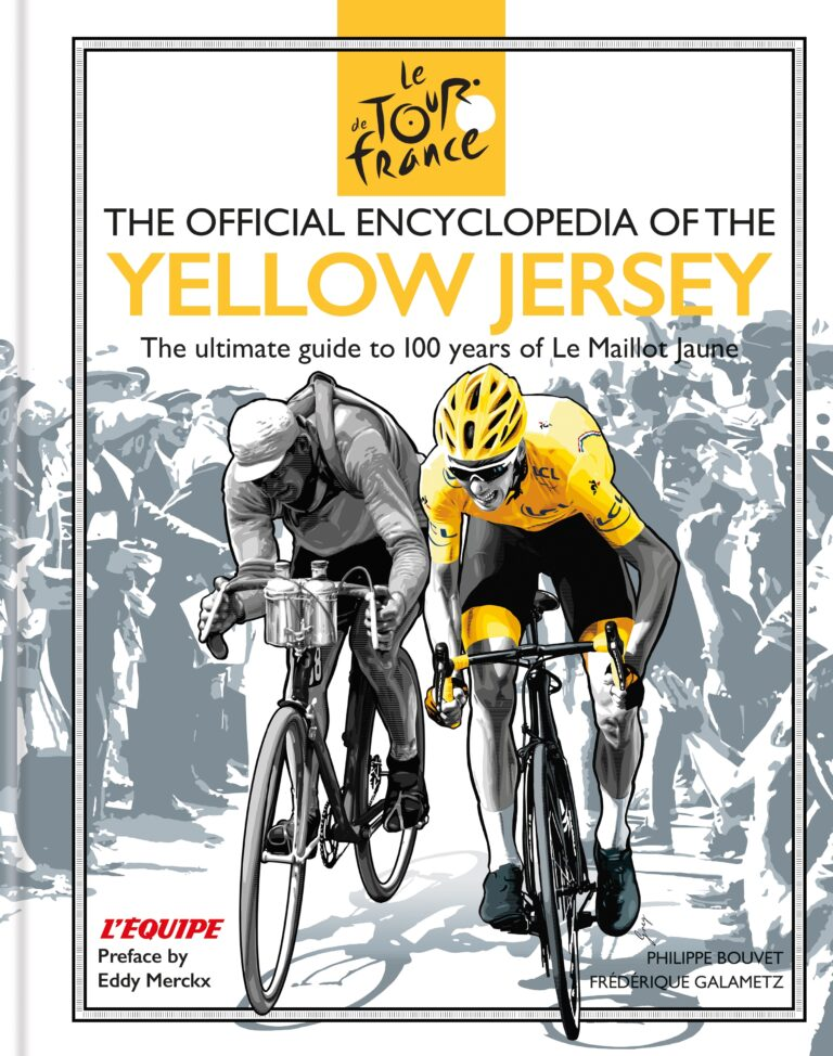 Book Cover - Yellow Jersey