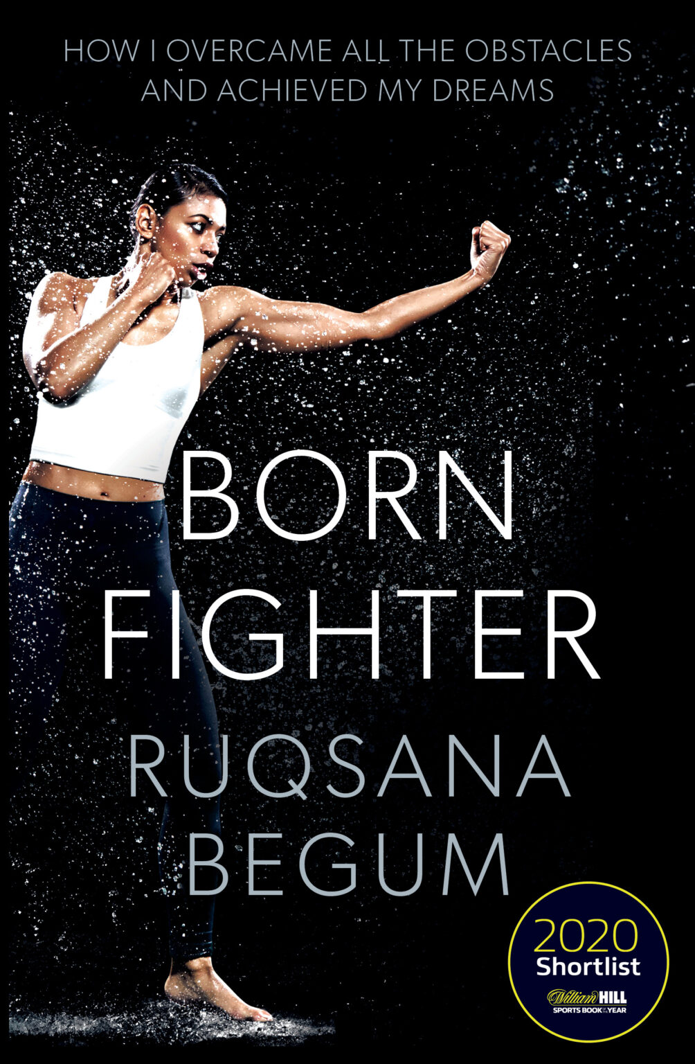Born Fighter by Ruqsana Begum Book Cover