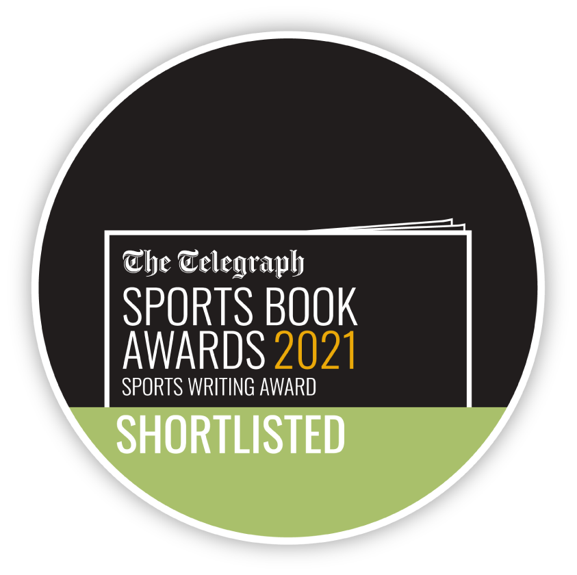Sports Writing Award Shortlist Sticker 2021