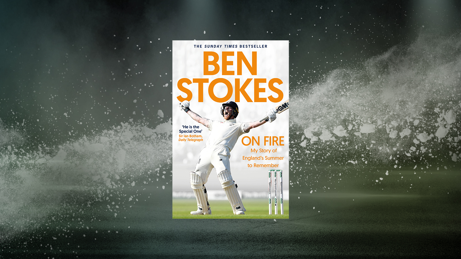 Interview with Richard Gibson, Ghostwriter of Ben Stokes' Autobiography 'On Fire'